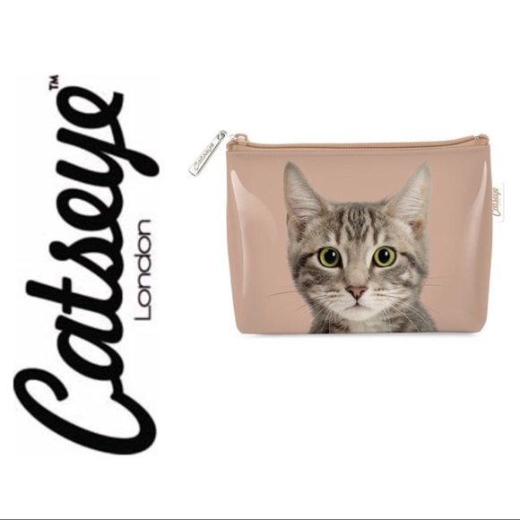 Catseye London Bags Jellycat Kitty Cat Toiletries Makeup Bag Poshmark